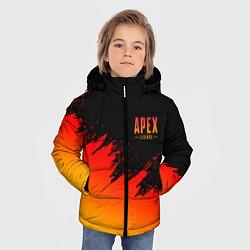 Куртка зимняя для мальчика Apex Sprite цвета 3D-черный — фото 2