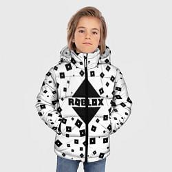 Куртка зимняя для мальчика Roblox Pattern цвета 3D-черный — фото 2