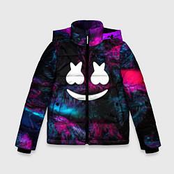 Куртка зимняя для мальчика Marshmello NEON цвета 3D-черный — фото 1