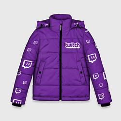Куртка зимняя для мальчика Twitch Streamer цвета 3D-черный — фото 1