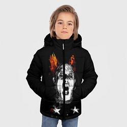 Куртка зимняя для мальчика The Prodigy: Keith Flint цвета 3D-черный — фото 2