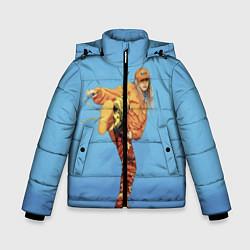 Куртка зимняя для мальчика Billie Eilish: Kick цвета 3D-черный — фото 1