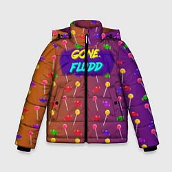 Куртка зимняя для мальчика Gone Fludd art 5 цвета 3D-черный — фото 1