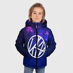 Детская зимняя куртка для мальчика с принтом Stray Kids, цвет: 3D-черный, артикул: 10176227906063 — фото 2