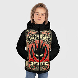 Куртка зимняя для мальчика The Offspring: Days Go By цвета 3D-черный — фото 2