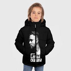 Куртка зимняя для мальчика Семья сказала цвета 3D-черный — фото 2