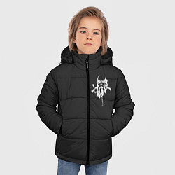 Куртка зимняя для мальчика White Stormtroopers цвета 3D-черный — фото 2