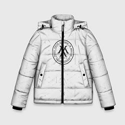 Детская зимняя куртка для мальчика с принтом Monsta x, цвет: 3D-черный, артикул: 10187085506063 — фото 1