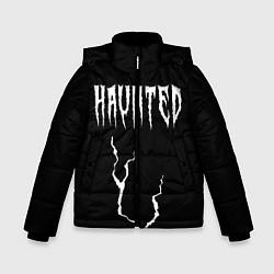 Куртка зимняя для мальчика KIZARU - HAUNTED FAMILY цвета 3D-черный — фото 1