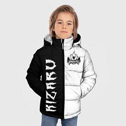Куртка зимняя для мальчика KIZARU цвета 3D-черный — фото 2