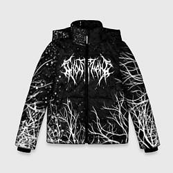Куртка зимняя для мальчика GHOSTEMANE цвета 3D-черный — фото 1