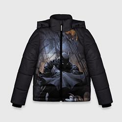 Куртка зимняя для мальчика Batman цвета 3D-черный — фото 1