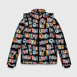 Куртка зимняя для мальчика Mad Love цвета 3D-черный — фото 1