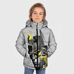 Куртка зимняя для мальчика Batman 80th Anniversary цвета 3D-черный — фото 2