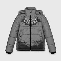 Куртка зимняя для мальчика Bbatman 80th anniversary цвета 3D-черный — фото 1