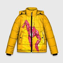 Куртка зимняя для мальчика Flash цвета 3D-черный — фото 1