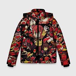 Куртка зимняя для мальчика UNDERTALE CHARA цвета 3D-черный — фото 1