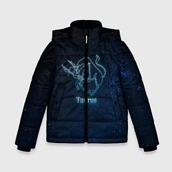 Куртка зимняя для мальчика Телец 3D цвета 3D-черный — фото 1