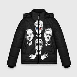 Куртка зимняя для мальчика Doctor Who цвета 3D-черный — фото 1