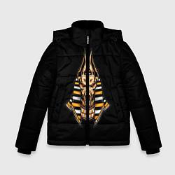 Куртка зимняя для мальчика Anubis цвета 3D-черный — фото 1