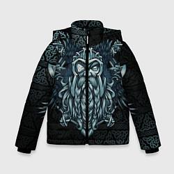 Куртка зимняя для мальчика Odinn цвета 3D-черный — фото 1