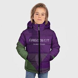 Куртка зимняя для мальчика Evangelion: 111 цвета 3D-черный — фото 2
