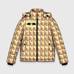 Куртка зимняя для мальчика Black mask цвета 3D-черный — фото 1