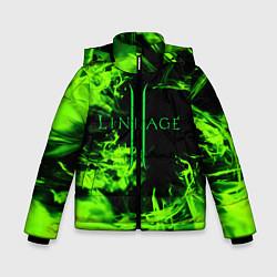 Детская зимняя куртка для мальчика с принтом LINEAGE 2, цвет: 3D-черный, артикул: 10202647506063 — фото 1