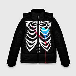 Куртка зимняя для мальчика UNDERTALE цвета 3D-черный — фото 1