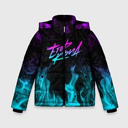 Куртка зимняя для мальчика ЕГОР КРИД цвета 3D-черный — фото 1
