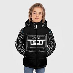 Детская зимняя куртка для мальчика с принтом Loading, цвет: 3D-черный, артикул: 10205897706063 — фото 2