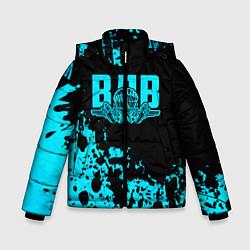 Куртка зимняя для мальчика ВДВ цвета 3D-черный — фото 1
