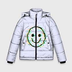 Куртка зимняя для мальчика Smile цвета 3D-черный — фото 1