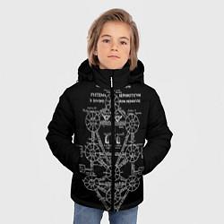 Детская зимняя куртка для мальчика с принтом EVa-updown, цвет: 3D-черный, артикул: 10206831706063 — фото 2