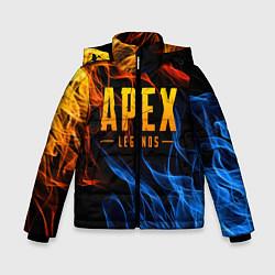 Куртка зимняя для мальчика APEX LEGENDS цвета 3D-черный — фото 1