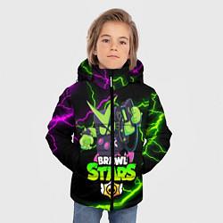 Куртка зимняя для мальчика BRAWL STARS VIRUS 8-BIT цвета 3D-черный — фото 2