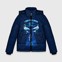 Куртка зимняя для мальчика Ufo цвета 3D-черный — фото 1
