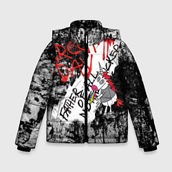 Куртка зимняя для мальчика Green Day - Father of All MF цвета 3D-черный — фото 1