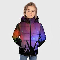 Детская зимняя куртка для мальчика с принтом Пати, цвет: 3D-черный, артикул: 10207798106063 — фото 2