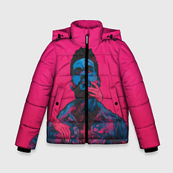 Куртка зимняя для мальчика The Weekend цвета 3D-черный — фото 1