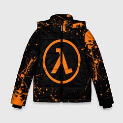 Куртка зимняя для мальчика HALF-LIFE цвета 3D-черный — фото 1