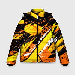 Куртка зимняя для мальчика Bona Fide цвета 3D-черный — фото 1