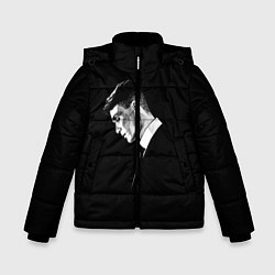 Куртка зимняя для мальчика Peaky Blinders цвета 3D-черный — фото 1