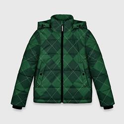 Куртка зимняя для мальчика ДЕНЬ СВЯТОГО ПАТРИКА цвета 3D-черный — фото 1