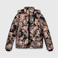 Детская зимняя куртка для мальчика с принтом Juice WRLD, цвет: 3D-черный, артикул: 10212957306063 — фото 1