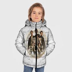 Куртка зимняя для мальчика Join The Hunt цвета 3D-черный — фото 2