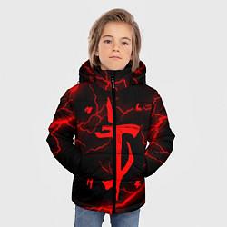 Куртка зимняя для мальчика DOOM ETERNAL цвета 3D-черный — фото 2
