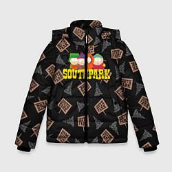 Куртка зимняя для мальчика SOUTH PARK цвета 3D-черный — фото 1