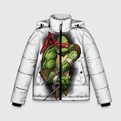 Куртка зимняя для мальчика Грозный Рафаэль цвета 3D-черный — фото 1