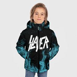 Куртка зимняя для мальчика Slayer цвета 3D-черный — фото 2